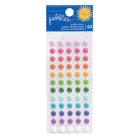Pebbles - Sun and Fun Collection - Self Adhesive Puffy Dots