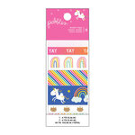 Pebbles - Live Life Happy Collection - Washi Tape with Foil Accents