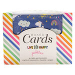 Pebbles - Live Life Happy Collection - Boxed Cards