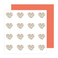 Jen Hadfield - The Avenue Collection - 12 x 12 Double Sided Paper - Dahlia Dr.