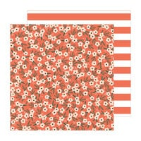 Jen Hadfield - The Avenue Collection - 12 x 12 Double Sided Paper - Poppy Pl.