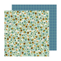 Pebbles - The Avenue Collection - 12 x 12 Double Sided Paper - Acorn Ave.