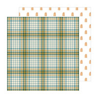 Pebbles - The Avenue Collection - 12 x 12 Double Sided Paper - Fourth Ave.