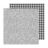 Pebbles - The Avenue Collection - 12 x 12 Double Sided Paper - Flower Dr.