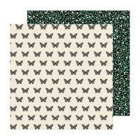 Pebbles - The Avenue Collection - 12 x 12 Double Sided Paper - Monarch Manor