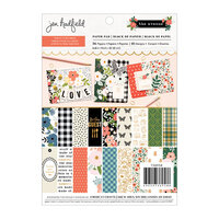 Pebbles - The Avenue Collection - 6 x 8 Paper Pad with Gold Foil Accents