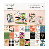 Jen Hadfield - The Avenue Collection - 12 x 12 Paper Pad with Gold Foil Accents