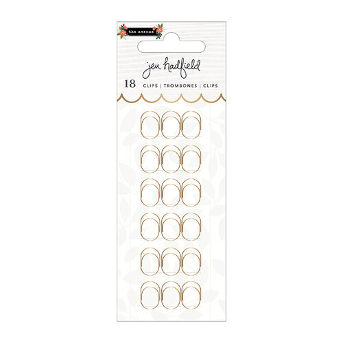 Pebbles - The Avenue Collection - Paperclips - Gold