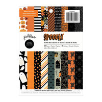 Pebbles - Spoooky Collection - 6 x 8 Paper Pad with Foil Accents