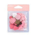 American Crafts - Pebbles - New Arrival Collection - Paper Flowers - Girl, CLEARANCE
