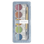 American Crafts - Pebbles - Classic Chalk Set - 10 Piece - Earth Tones