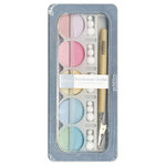 American Crafts - Pebbles - Pearlescent Chalk Set - 10 Piece - Pastels