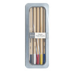 American Crafts - Pebbles - Chalk Pencil Set - 5 Piece - Classic - Brights