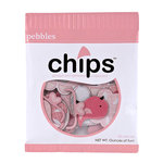 American Crafts - Pebbles - New Arrival Collection - Chips - Chipboard Pieces - Girl