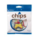 American Crafts - Pebbles - Fresh Goods Collection - Chips - Chipboard Pieces