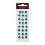 American Crafts - Pebbles - Self Adhesive Candy Dots - Crystal Jade