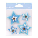 American Crafts - Pebbles - New Arrival Collection - Felt Embellishments - Boy