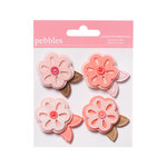 American Crafts - Pebbles - New Addition Girl Collection - Layered Felt Embellishments