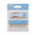 American Crafts - Pebbles - New Addition Boy Collection - Toothpick Flags