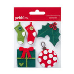 American Crafts - Pebbles - Welcome Christmas Collection - Layered Felt Embellishments