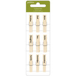 Pebbles - Family Ties Collection - Clothes Pins