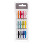 American Crafts - Pebbles - Basics Collection - Wood Clothespin - Multicolor