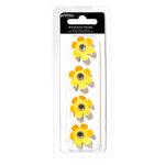 Pebbles - Basics Collection - Rhinestone Flowers - Honeycomb