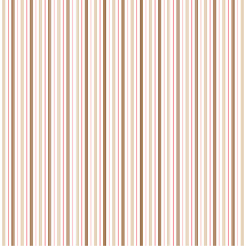 American Crafts - Pebbles - New Arrival Collection - 12 x 12 Double Sided Paper - She's Here Girl