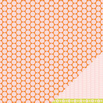 American Crafts - Pebbles - Happy Go Lucky Collection - 12 x 12 Double Sided Paper - Dandy