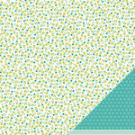 American Crafts - Pebbles - Floral Lane Collection - 12 x 12 Double Sided Textured Paper - My Darling