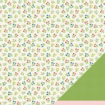 American Crafts - Pebbles - Fresh Goods Collection - 12 x 12 Double Sided Paper - Freshly Picked