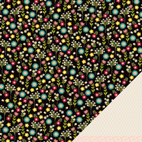 American Crafts - Pebbles - Walnut Grove Collection - 12 x 12 Double Sided Paper - Harriet