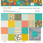American Crafts - Pebbles - Seen and Noted Collection - 12 x 12 Collection Pack