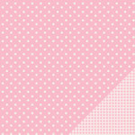 Pebbles - Basics Collection - 12 x 12 Double Sided Paper - Peony Dot