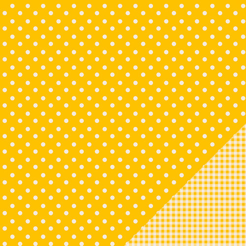 Pebbles - Basics Collection - 12 x 12 Double Sided Paper - Honeycomb Dot