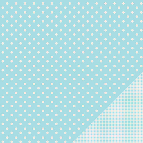 Pebbles - Basics Collection - 12 x 12 Double Sided Paper - Powder Dot