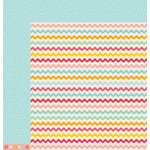 American Crafts - Pebbles - Love You More Collection - 12 x 12 Double Sided Paper - Annie