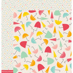 American Crafts - Pebbles - Love You More Collection - 12 x 12 Double Sided Paper - Ainsley
