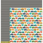 American Crafts - Pebbles - Love You More Collection - 12 x 12 Double Sided Paper - Ethan