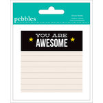 American Crafts - Pebbles - Love You More Collection - Sticky Notes - Boy