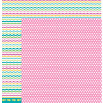 American Crafts - Pebbles - Party with Amy Locurto - 12 x 12 Double Sided Paper - Bubbles