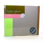 American Crafts - Modern Album - Customizable 12x12 D-Ring - Green
