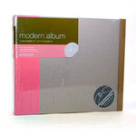 American Crafts - Modern Album - Customizable 12x12 D-Ring - Pink