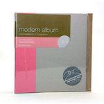 American Crafts - Modern Album - Customizable 8.5x11 D-Ring - Pink