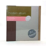 American Crafts - Modern Album - Customizable 8.5x11 D-Ring - Brown