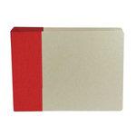 American Crafts - Modern Album - Customizable 6x6 D-Ring Album - Red