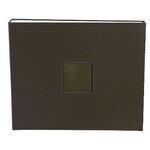 American Crafts - Cloth Album - 12x12 D-Ring Album - Chestnut