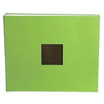 American Crafts - Cloth Album - 12x12 D-Ring Album - Leaf