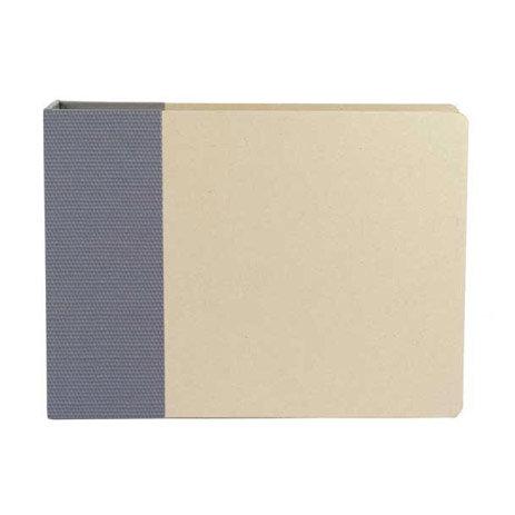 American Crafts - Modern Album - Customizable 12x12 D-Ring Album - Navy, CLEARANCE
