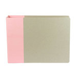 American Crafts - Modern Album - Customizable 12x12 D-Ring Album - Light Pink